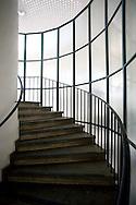 DEU, Germany, Cologne, staircase of the multi-storey car park of the Kaufhof department store.....DEU, Deutschland, Koeln, Treppenhaus des Parkhauses des Kaufhofs an der Hohen Strasse.