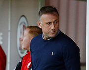 Mark Yates, Manager of Crawley Town before the Sky Bet League 2 match between Crawley Town and Cambridge United at the Checkatrade.com Stadium, Crawley, England on 9 January 2016. Photo by Andy Walter.