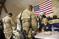 Al Franken on a USO tour in Afghanistan and Iraq Al Franken