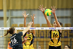 26-11-2015 SLO: Champions League Calcit Ljubljana - VakifBank Istanbul, Ljubljana<br /> Monika Potokar of Calcit Ljubljana and Milena Rasic of VakifBank Istanbul<br /> <br /> ***NETHERLANDS ONLY***