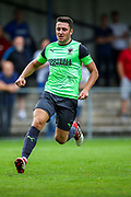 AFC Wimbledon midfielder Anthony Hartigan (8) during the Pre-Season Friendly match between Hampton & Richmond and AFC Wimbledon at Beveree Stadium, Richmond Upon Thames, United Kingdom on 27 July 2019.
