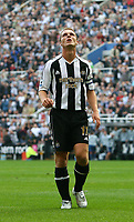 Photo: Andrew Unwin.<br /> Newcastle United v Everton. The Barclays Premiership. 24/09/2006.<br /> Newcastle's Scott Parker rues a missed opportunity.