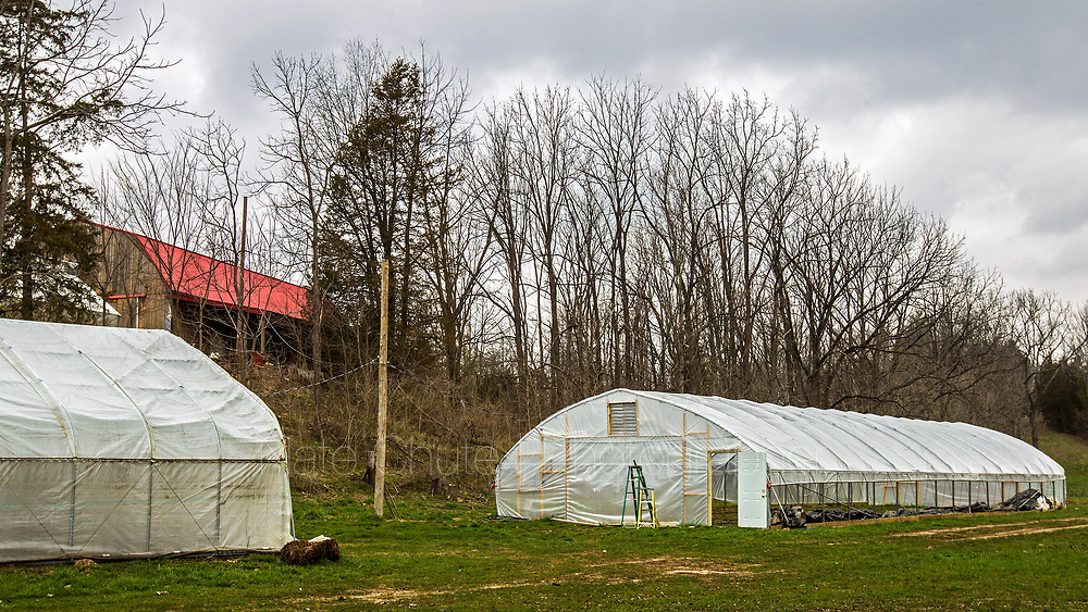 Nature's Gift farm outside Morgantown, Ind. on Tuesday, April 10, 2018.