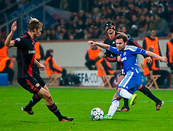 23.11.2011, BayArena, Leverkusen, Germany, UEFA CL, Gruppe E, Bayer 04 Leverkusen (GER) vs Chelsea FC (ENG), im Bild Chelsea's Juan Mata in action against Bayer Leverkusen during the football match of UEFA Champions league, group E, between Bayer Leverkusen (GER) and FC Chelsea (ENG) at BayArena, Leverkusen, Germany on 2011/11/23. EXPA Pictures © 2011, PhotoCredit: EXPA/ Sportida/ David Tickle..***** ATTENTION - OUT OF ENG, GBR, UK *****