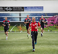 Dundee head fitness coach Tam Richie  -  Dundee FC pre-season testing at Manhattan Works, Dundee<br /> <br />  - &copy; David Young - www.davidyoungphoto.co.uk - email: davidyoungphoto@gmail.com