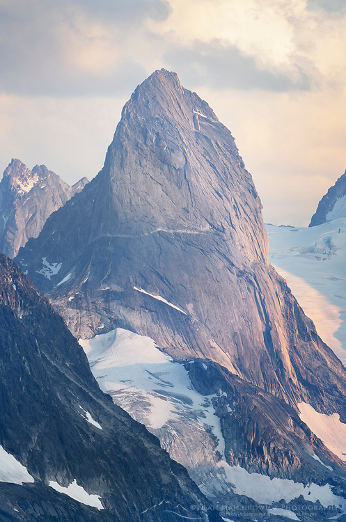 Bugaboo Spire, Bugaboo Provincial Park. Purcell Mountains British Columbia