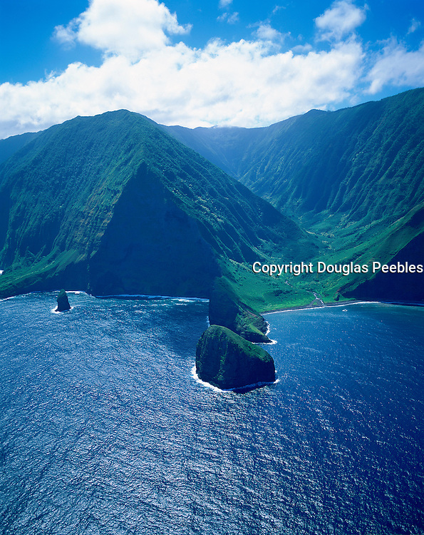 Pelekunu Valley, North Shore, Molokai, Hawaii, USA<br />