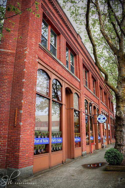Old building in Bellingham, WA