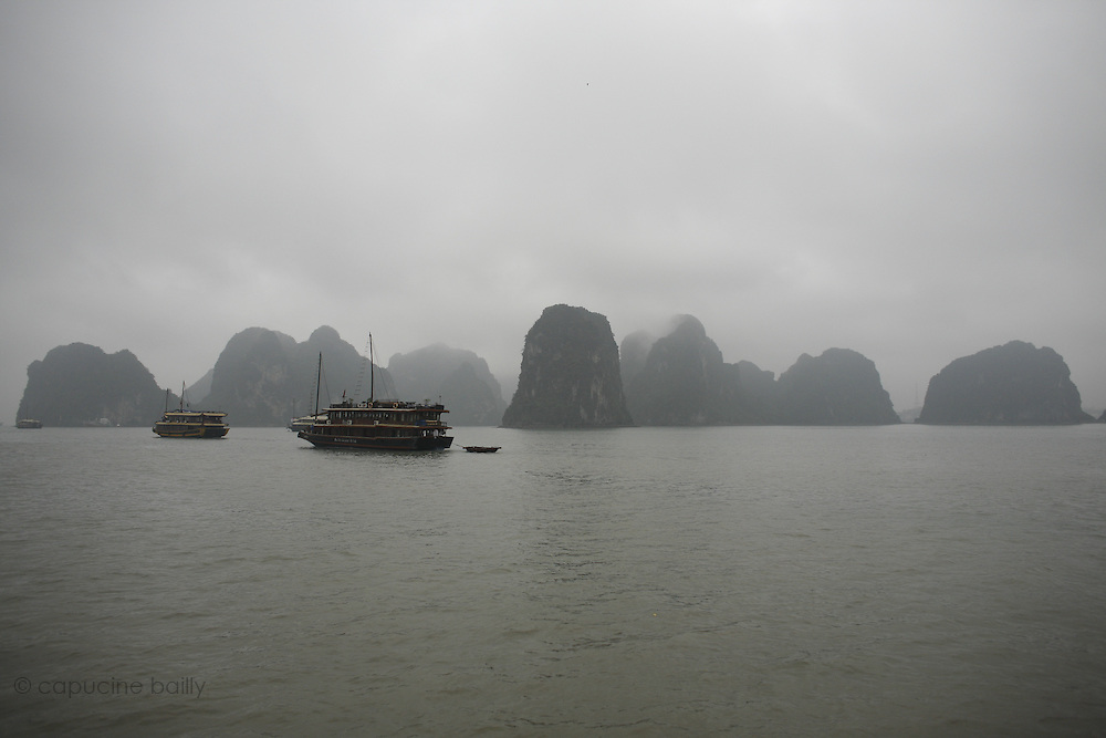 Ha Long Bay, Vietnam. March 13th 2007