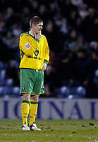 Photo: Jed Wee.<br /> Burnley v Norwich City. Coca Cola Championship. 24/03/2006.<br /> <br /> Norwich's Carl Robinson laments the opening goal.