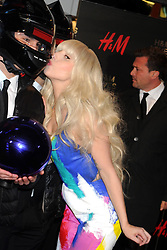 60715669<br /> Lady Gaga attends the H&M Times Square grand opening, New York City, USA , Thursday, 14th November 2013. Picture by  imago / i-Images<br /> UK ONLY
