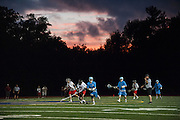 Medfield against Hingham in the MIAA State Division 2 lacrosse semi-finals at Norwell High School, June 16, 2015. Medfield won the game 13-10. (Wicked Local Staff Photo/ Sam Goresh)