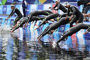Lara Grangeon (FRA) competes on Women's 5 kms Open Water during the Swimming European Championships Glasgow 2018, at Tollcross International Swimming Centre, in Glasgow, Great Britain, Day 7, on August 8, 2018 - Photo Stephane Kempinaire / KMSP / ProSportsImages / DPPI