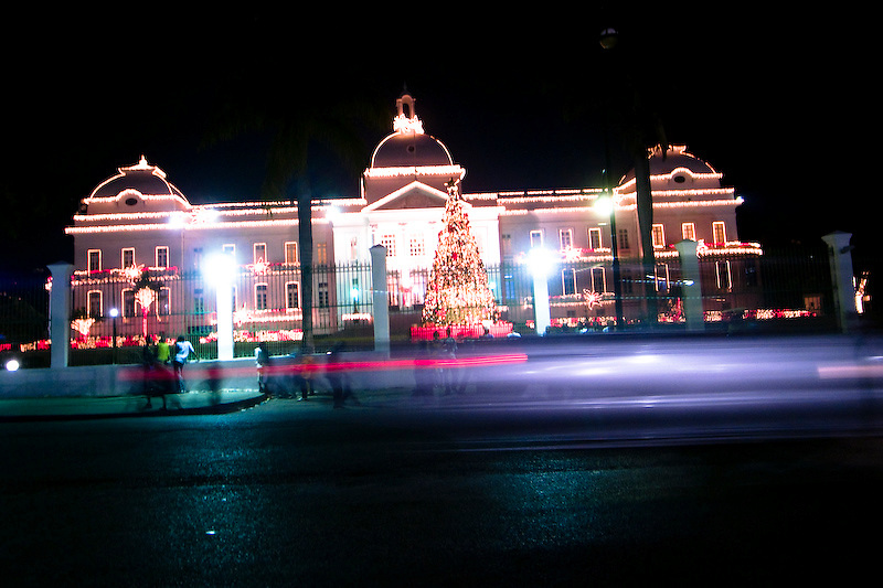 National Palace. Port Au Prince, Haiti. 12/31/2009 Photo by Ben Depp
