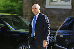 © Licensed to London News Pictures. 14/05/2019. London, UK. Sajid Javid - Home Secretary arrives in Downing Street for the weekly Cabinet meeting. Photo credit: Dinendra Haria/LNP