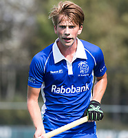 ROTTERDAM -  Teun Kropholler (Kampong) tijdens de wedstrijd om de derde plaats , Kampong- Oranje Rood , bij de ABN AMRO cup. COPYRIGHT KOEN SUYK