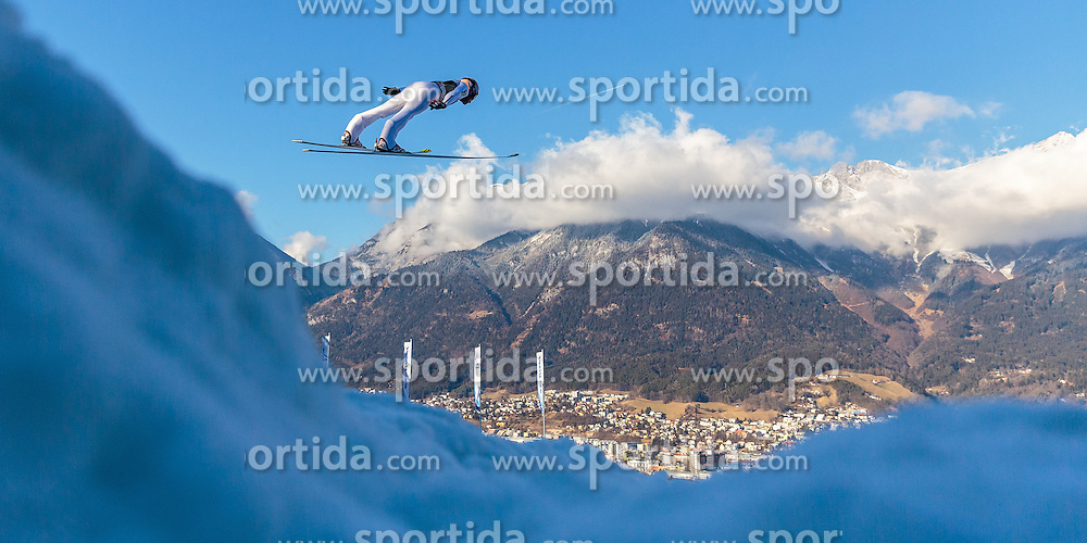 03.01.2017, Bergiselschanze, Innsbruck, AUT, FIS Weltcup Ski Sprung, Vierschanzentournee, Innsbruck, Training, im Bild Andreas Kofler (AUT) // Andreas Kofler of Austria during his Practice Jump for the Four Hills Tournament of FIS Ski Jumping World Cup at the Bergiselschanze in Innsbruck, Austria on 2017/01/03. EXPA Pictures © 2017, PhotoCredit: EXPA/ JFK