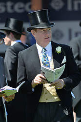 The Earl of Derby at The Investec Derby, Epsom, Surrey England. 3 June 2017.<br /> Photo by Dominic O'Neill/SilverHub 0203 174 1069 sales@silverhubmedia.com