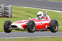 HSCC Gold Cup Oulton Park, Cheshire, United Kingdom.  28th-29th August 2011.  Race 2 HSCC/HFJRA JMW Front Engined Series. Historic Formula Junior Race A (Class A - B). 5 Simon Goodliff Lola Mk2. World Copyright: Peter Taylor/PSP. Copy of publication required for printed pictures. Every used picture is fee-liable.