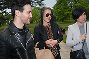 KINDER UGGUGINI; NOOMI RAPACE; SHARLEEN SPITERI , Rory McEwen - The Colours of Reality, Exhibition opening.- Rory McEwen - The Colours of Reality,   Shirley Sherwood Gallery of Botanical Art, Kew Gardens, TW9 2AH , London.  May 20, 2013