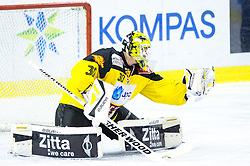 02.11.2014, Hala Tivoli, Ljubljana, SLO, EBEL, HDD Telemach Olimpija Ljubljana vs UPC Vienna Capitals, 16. Runde, in picture David Kickert (UPC Vienna Capitals, #30) during the Erste Bank Icehockey League 16. Round between HDD Telemach Olimpija Ljubljana and UPC Vienna Capitals at the Hala Tivoli, Ljubljana, Slovenia on 2014/11/02. Photo by Matic Klansek Velej / Sportida