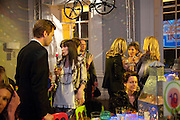OLIVER BARKER; ANNABELLE NEILSON, The ICA's Psychedelica Gala Fundraising party. Institute of Contemporary Arts. The Mall. London. 29 March 2011. -DO NOT ARCHIVE-© Copyright Photograph by Dafydd Jones. 248 Clapham Rd. London SW9 0PZ. Tel 0207 820 0771. www.dafjones.com.