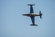 Greg Colyer in his T-33 Ace Maker II, at the Oregon International Airshow.