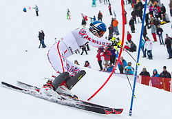 22.01.2012, Ganslernhang, Kitzbuehel, AUT, FIS Weltcup Ski Alpin, 72. Hahnenkammrennen, Herren, Slalom 1. Durchgang, im Bild Benjamin Raich (AUT) // Benjamin Raich of Austria during Slalom race 1st run of 72th Hahnenkammrace of FIS Ski Alpine World Cup at 'Ganslernhang' course in Kitzbuhel, Austria on 2012/01/22. EXPA Pictures © 2012, PhotoCredit: EXPA/ Johann Groder