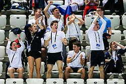 The Great Britain  Team react during the Womens 10m Platform Final - Mandatory byline: Rogan Thomson/JMP - 13/05/2016 - DIVING - London Aquatics Centre - Stratford, London, England - LEN European Aquatics Championships 2016 Day 5.