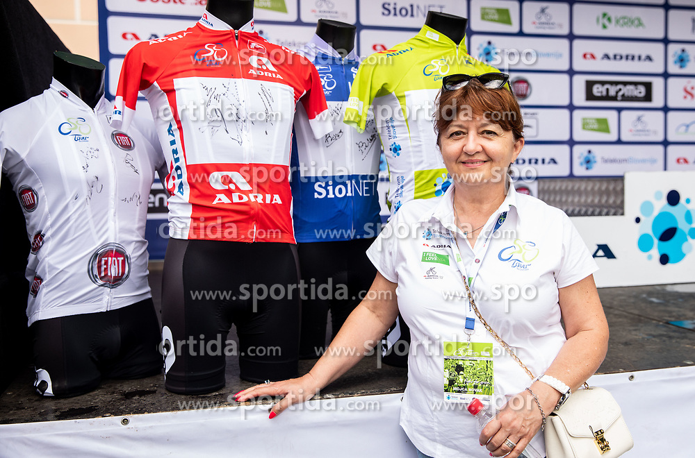 Mojca Novak during 5th Stage of 26th Tour of Slovenia 2019 cycling race between Trebnje and Novo mesto (167,5 km), on June 23, 2019 in Slovenia. Photo by Vid Ponikvar / Sportida