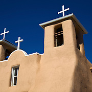 Built in the late 1700s, the San Francisco de Asis Church was made famous by Georgia O'Keeffe with her painting of the church's massive adobe walls simply looming up into the sky. Still integral to its community today, this Spanish mission church is listed as a U.S. National Historic Landmark.