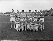 Cork Hibs Vs Jacobs. .1961..11.03.1961..03.11.1961..11th March 1961..The FAI Cup second round saw cork Hibernians pitted against  Jacobs works team at Rutland Avenue, Dublin...Image shows the Jacobs Team.