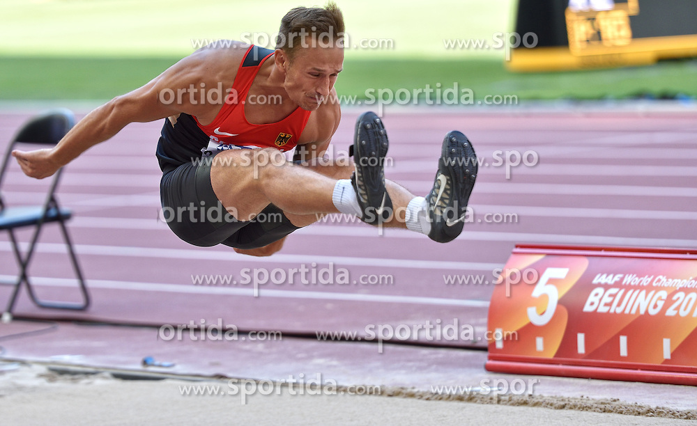 28-08-2015 CHN: IAAF World Championships Athletics day 7, Beijing<br /> Rico Freimuth GER<br /> Photo by Ronald Hoogendoorn / Sportida