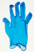 Translucent rubber surgical glove