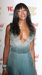 © Licensed to London News Pictures. 27/11/2014, UK.  Naomi Campbell, Naomi Campbell Fashion For Relief Pop-Up Shop - launch party, Westfield London UK, 27 November 2014. Photo credit : Richard Goldschmidt/Piqtured/LNP