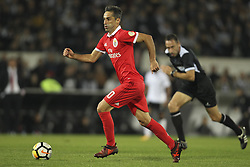 November 5, 2017 - Guimaraes, Guimaraes, Spain - Benfica's Brazilian forward Jonas during the Premier League 2017/18 match between Vitoria SC and SL Benfica, at Dao Afonso Henriques Stadium in Guimaraes on November 5, 2017. (Credit Image: © Dpi/NurPhoto via ZUMA Press)