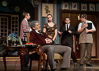 """Gilford High School production of """"You Can't Take It With You""""  Wednesday, March 21, 2012."""