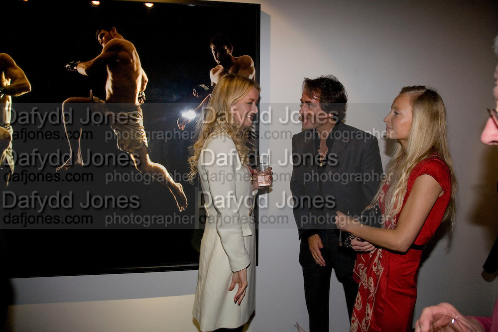 EMMA PARKER BOWLES, TIM JEFFERIES AND MARTHA WARD, Kevin Lynch: Octagon - private view Hamiltons Gallery, 13 Carlos Place, London, W1, 17 January 2008. -DO NOT ARCHIVE-© Copyright Photograph by Dafydd Jones. 248 Clapham Rd. London SW9 0PZ. Tel 0207 820 0771. www.dafjones.com.