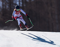 February 17, 2018 - PyeongChang, South Korea - NOELLE BARAHONA of Chila during Alpine Skiing: Ladies Super-G at Jeongseon Alpine Centre at the 2018 Pyeongchang Winter Olympic Games. (Credit Image: © Patrice Lapointe via ZUMA Wire)
