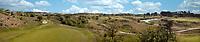 WASSENAAR / Den Haag - panorama hole 15 met de baan richting clubhuis. .  Koninklijke Haagsche Golf Club    COPYRIGHT KOEN SUYK