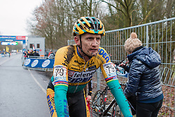 Bart Wellens (BEL) of Telenet - Fidea Cycling Team, Men Elite, Cyclo-cross World Cup Hoogerheide, The Netherlands, 25 January 2015, Photo by Pim Nijland / PelotonPhotos.com