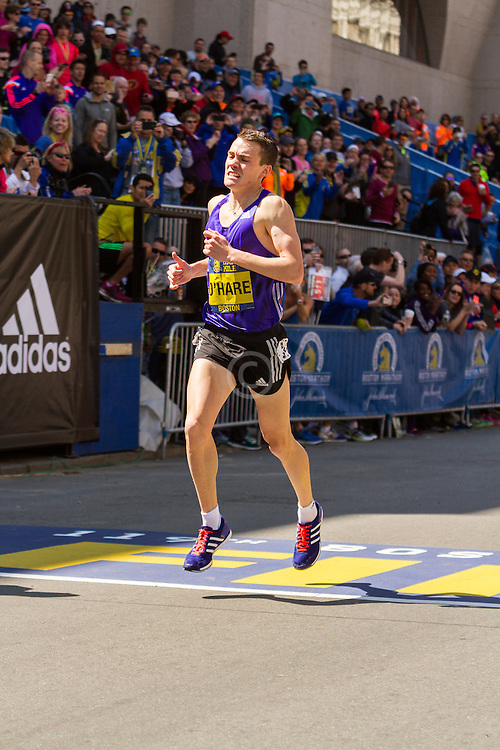 Boston Marathon: BAA 5K road race, Invitational Mens Mile, Chris O'Hare