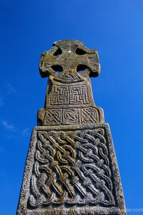 Europe, United Kingdom, Wales, Carew. The Carew Cross dates from the 11th century.