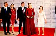 21-3-2014 BADEN BADEN - Dutch Queen Maxima of the netherlands receives the Deutscher Medienpreis 2014 with King Willem alexander . copyright robin utrecht