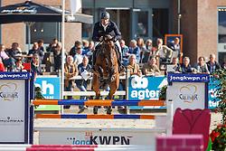 333 - Elliot HX - Steeghs Luc<br /> 5 Jarige Finale Springen<br /> KWPN Paardendagen - Ermelo 2014<br /> © Dirk Caremans