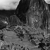 Machu Picchu with Huayna Picchu in the background, Peru