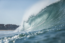 October 12, 2017 - wave during Round One at Quiksilver Pro France 2017, Hossegor, France..Quiksilver Pro France 2017, Landes, France - 12 Oct 2017 (Credit Image: © WSL via ZUMA Press)
