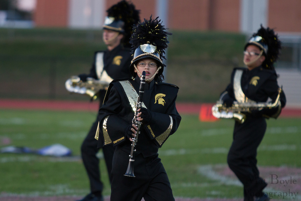 Deptford High School's marching band performs at the South Jersey Chapter Championships held at Clearview High School on Sunday October 21, 2012. (photo / Mat Boyle)