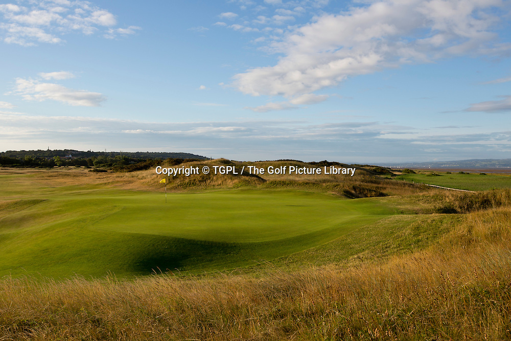 14th par 4  Royal Liverpool Golf Club, Hoylake,Wirral,England, during summer 2013,venue for the 2014 Open Championship.