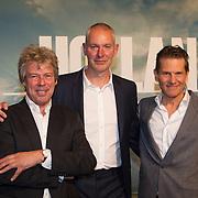 NLD/Utrecht/20150921 - Film premiere 'Holland – Natuur in de Delta', Mark Verkerk, Ton Okkerse, Ignas van Schaik